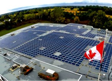 Canada wants the U.S. to exclude it from the list of countries hit with solar import tariffs