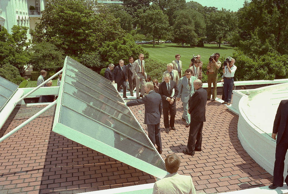 The White House Solar Panels with Jimmy Carter