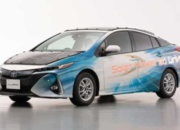 Toyota joins the race towards the first drivable solar-powered electric vehicle