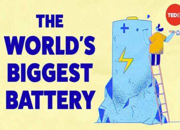 The world's biggest battery and how inventors are creating giant batteries to help power the world